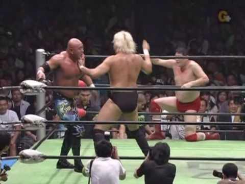 Mutoh and Taue vs. Takayama and Kobashi Part 3