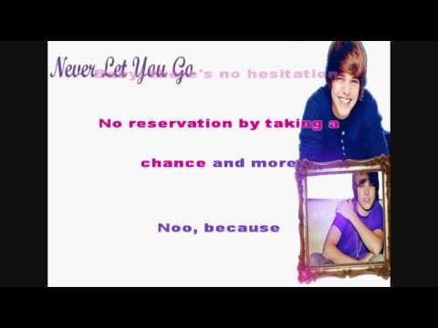 Never Let You Go - Justin Bieber (Acoustic) [Instrumental/Karaoke]