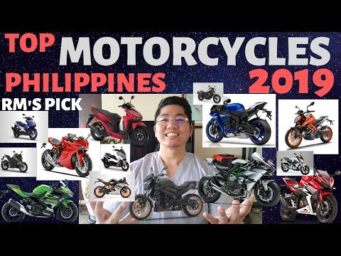 Top Motorcyles Philippines 2019 : RM's Pick Prices Included