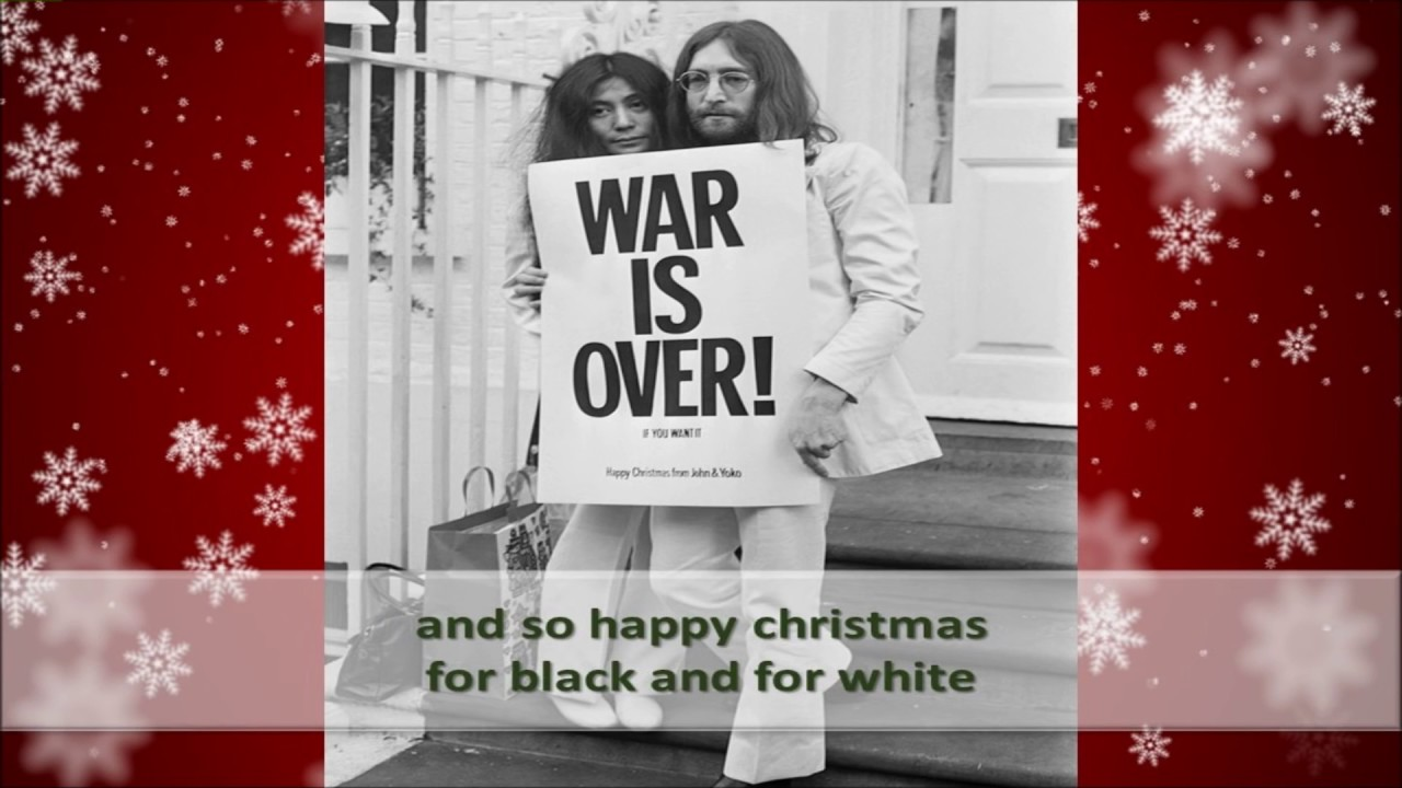 John Lennon Happy Christmas \