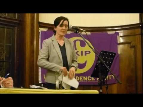 Anne Marie Waters - On radical Islam - at the Barking and Dagenham UKIP branch 21/3/2017