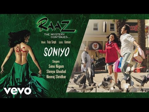 Soniyo - Official Audio Song | Raaz - The Mystery Continues | Sonu Nigam