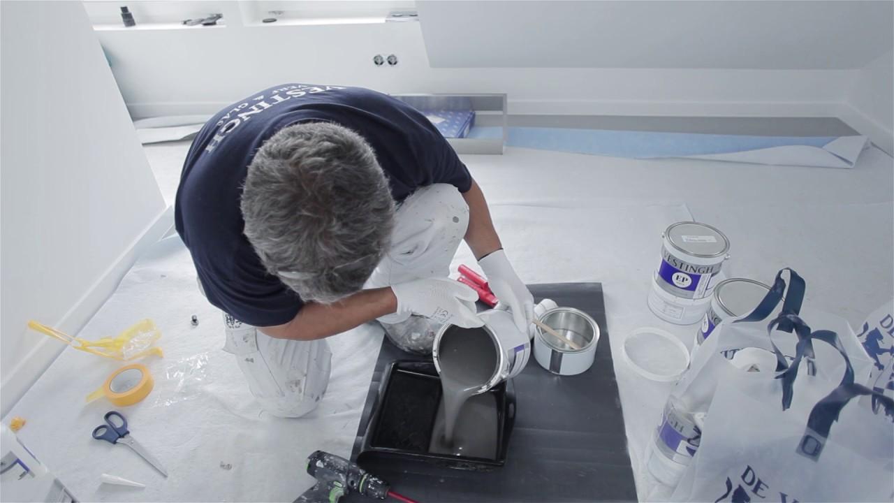 Waterdichte Coating Badkamer : De vestingh badkamer coating youtube