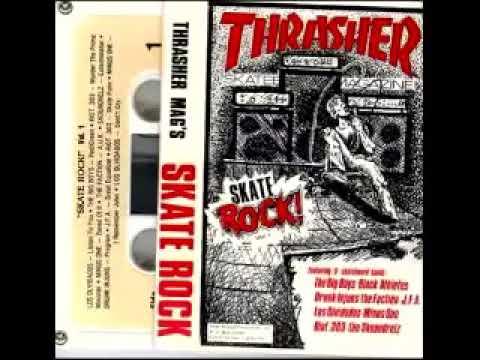 SKATE ROCK Thrasher Mag's (Vol 1,2,3,4,+5) 1983-1987