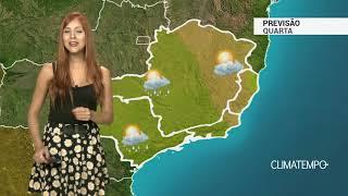 Previsão Sudeste - Calor intenso e pancadas de chuva