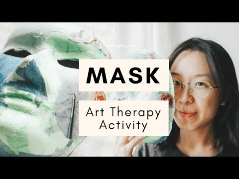 An Eye-Opening Mask Art Therapy Activity: Find Your True Self thumbnail