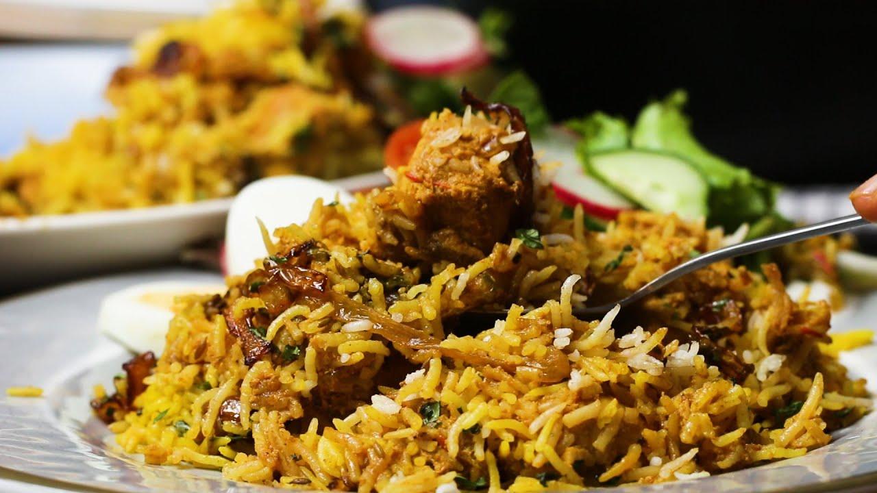 """Znalezione obrazy dla zapytania: Chicken Tikka Biryani tasty channel"""""""