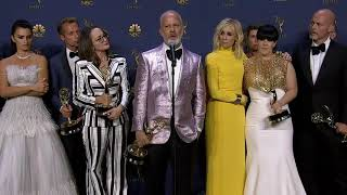 Ryan Murphy & 'The Assassination of Gianni Versace' - Emmys 2018 - Backstage Speech