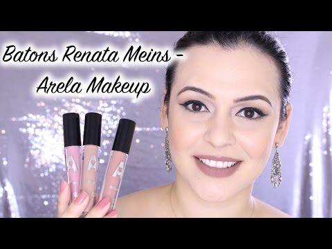 Resenha: Batons Renata Meins - Arela Makeup