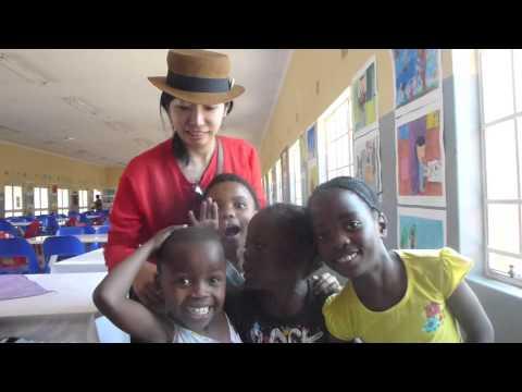 Kids Art Exhibition in Botswana  ボツワナ&日本子供絵画交流展