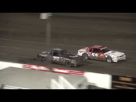 Night 2 Fall Extravaganza 2017 Hobby Stock feature Lee County Speedway 10/8/17