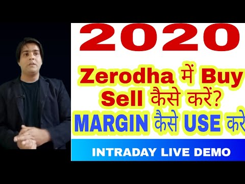Zerodha Trading Tutorial 2020 - How to Buy and Sell Shares in zerodha - how to buy stocks - 동영상