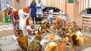 ★Танец Белочек★Dance of little squirrels★Новогодний Утренник в детском саду ★