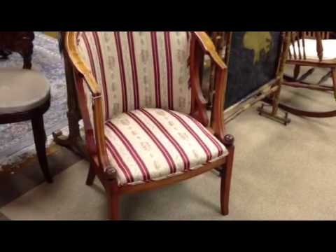 Antique furniture, Eastlake chair, Antique rocking chair, Antique barrel  chair, and vintage chairs - YouTube - Antique Furniture, Eastlake Chair, Antique Rocking Chair, Antique