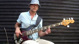 C Major triad entire fretboard bass exercise