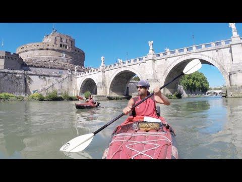 Flusswandern mit Steve #3 - Tiber ab Città di Castello & Stadtdurchfahrt Rom
