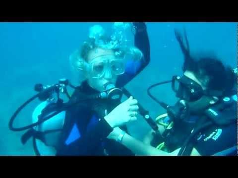 Scuba Diving - Playa Del Carmen, MEXICO (Jan 10,2012)