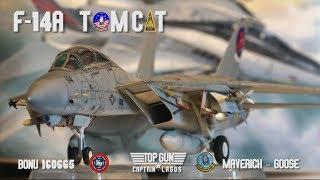 TOP GUN F-14A Tomcat Maverick & Goose  Tamiya 1:32