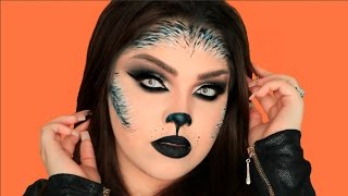 SEXY WEREWOLF HALLOWEEN MAKEUP TUTORIAL