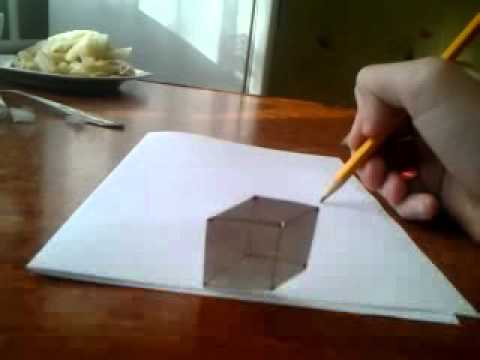 How to draw 3D cube?