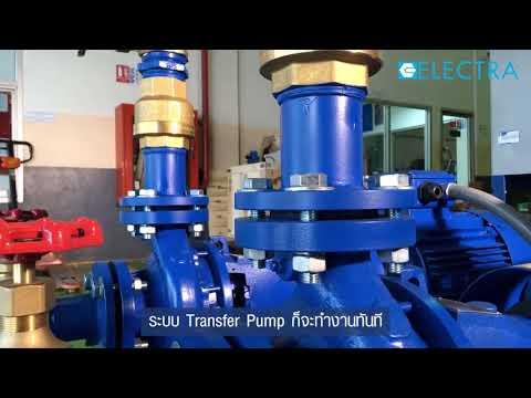 ชุด Transfer Pump ใช้ในอาคาร โรงงานอุตสาหกรรม
