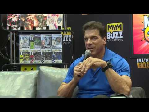 The Hulk Lou Ferrigno Live from MCM MANCHESTER