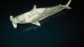 Dollar Origami: Won Park Shark (fin Clinic)