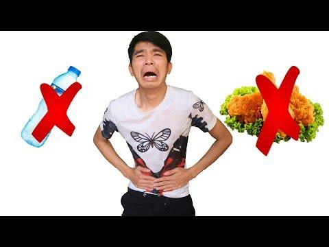 PHD | Thử Thách 24 Giờ Không Ăn Không Uống | Do Not Eat Or Drink For 24 Hours