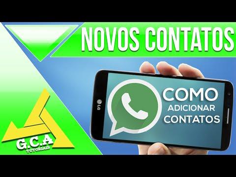 Tutorial - como adicionar contatos de outros países no whatsapp - Atualizado 2018