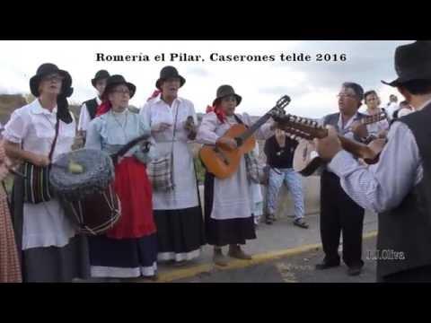 ROMERIA EL PILAR CASERONES TELDE 2016