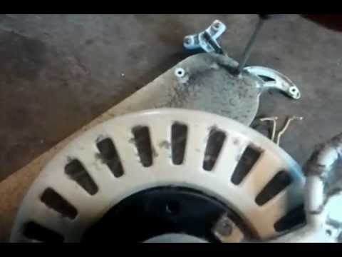 How to scrap a ceiling fan for copper, wires, brass, and aluminum