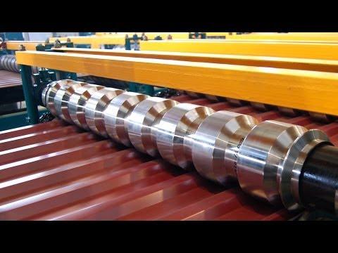 Оборудование для производства профнастила до 45 м/мин