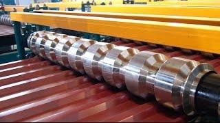 Оборудование для производства профнастила до 45 м/мин(Оборудование для производства профнастила позволяет из рулона оцинкованного металла с полимерным покрыти..., 2013-12-16T11:06:31.000Z)