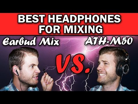#1 Best Studio Headphones on a Budget | Audio Technica ATH M50 Review | Best for Mixing