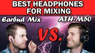 Video #1 Best Studio Headphones on a Budget | Audio Technica ATH M50 Review | Best for Mixing download MP3, 3GP, MP4, WEBM, AVI, FLV Juli 2018