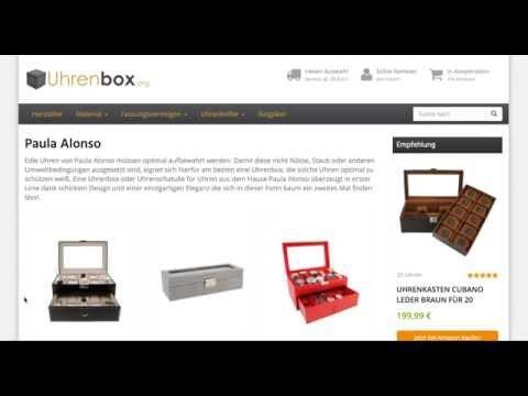Paula Alonso Uhrenbox
