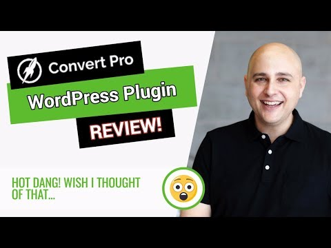 Convert Pro Review - A New Kind Of WordPress Lead Opt-in Plu