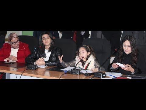 كلمة أميرة القراءة مريم أمجون  في لقاء تواصلي لدى افتتاحها لمعرض كتاب الناشئة الذي يحمل اسمها