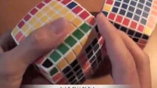 Как собрать кубик 7х7. ч.4/4 Паритеты