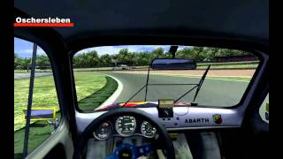 [rFactor] Abarth Cup 2010 VRG - Oschersleben _ On Board