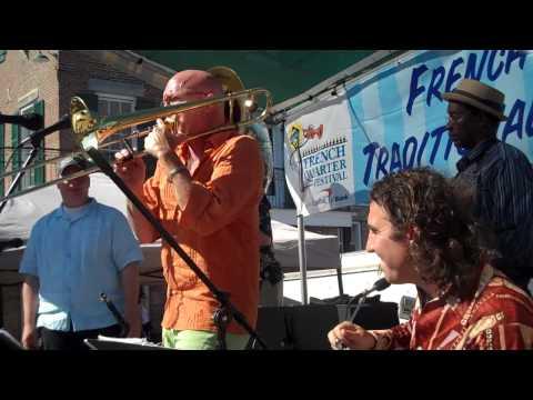Rick Trolsen & The Po' Boys - Muskrat Ramble-April 2010-French Quarter Fest