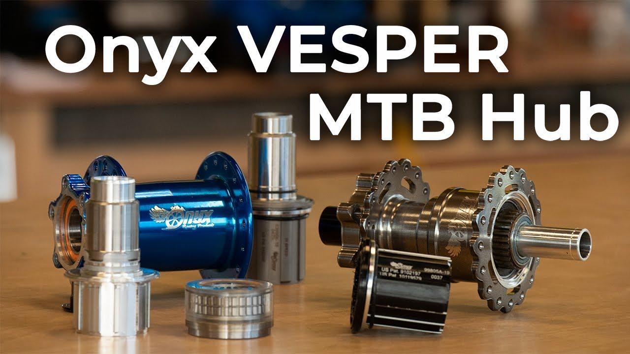 Onyx Vesper - Silent, Instant Engagement MTB Hubs