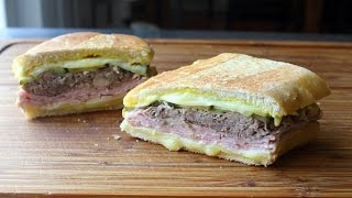 The Cuban Sandwich - How to Make a Cubano San...