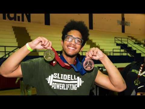 Slidell High School Powerlifting 2018