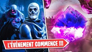 BIG EVENT SECRET ON FORTNITE!! THE CUBE IS GOING TO EXPLODE!