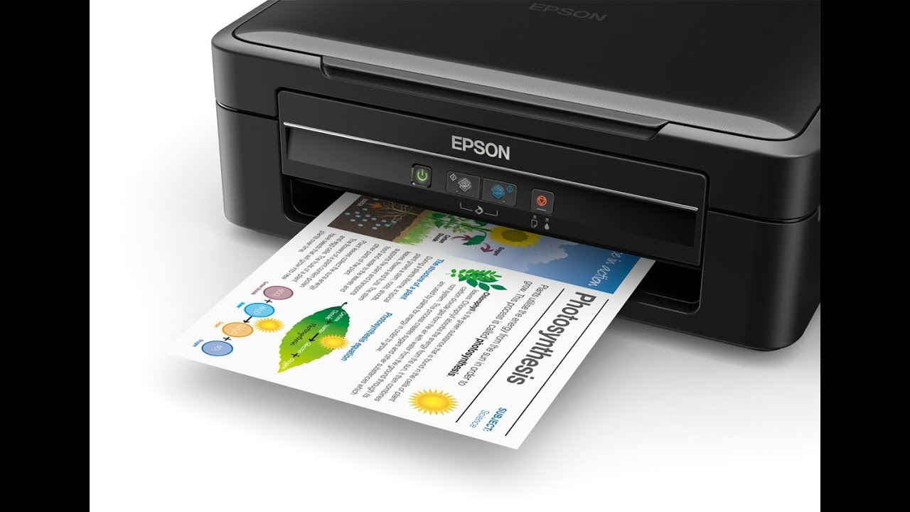 Epson L380 All In One Ink Tank Printer Complete Review Youtube
