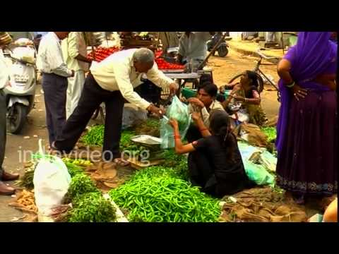 Vegetable Market in Ahmedabad