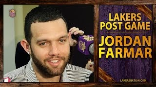 "Lakers Vs. Grizzlies: Jordan Farmar Says ""Of Course"" He Wants To Be A Laker Next Year"
