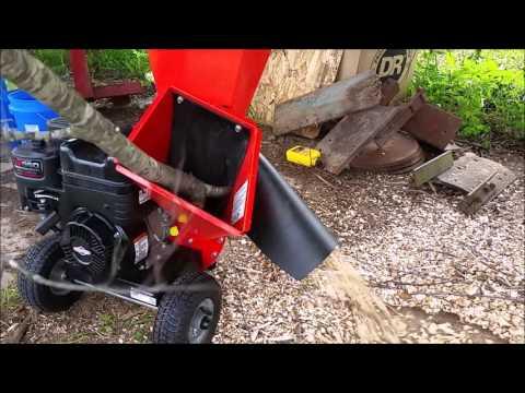 DR chipper shredder for gardening