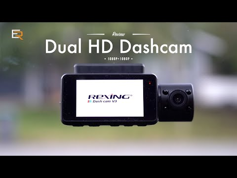 Rexing V3 Dual HD Dash Cam - Protect Yourself Inside And Out